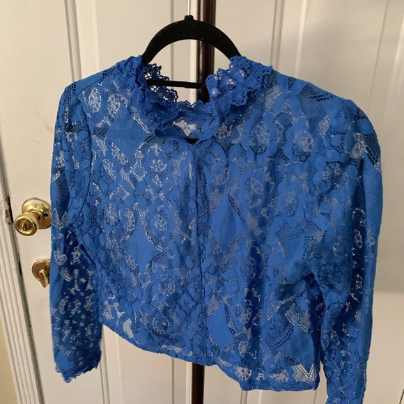 no brand Tops - Lace top